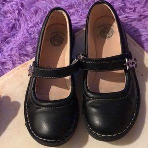 Black school shoe/mary jane